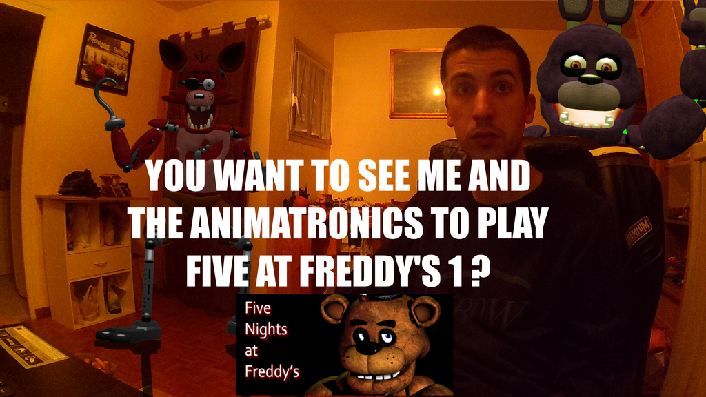 Fnaf real life we play fnaf games description by pft production on