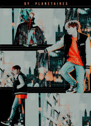 [ID] Hoseok, Airplane. by planetaires