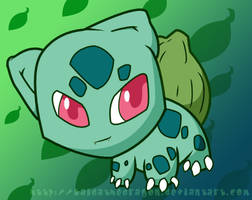 Bulbasaur by KaidaTheDragon