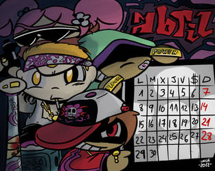 April 2013 by Red-bat