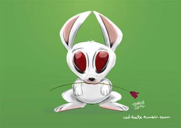 April creepy bunny by Red-bat