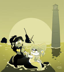 Calm at the lighthouse (Mermay 2020)