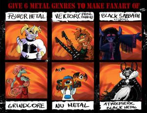 Heavy metal devil collection 18