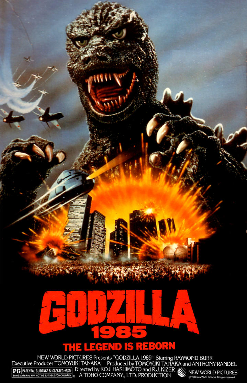 Godzilla 1985 by Jaiga on DeviantArt