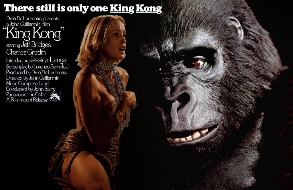King Kong 1976 Seins