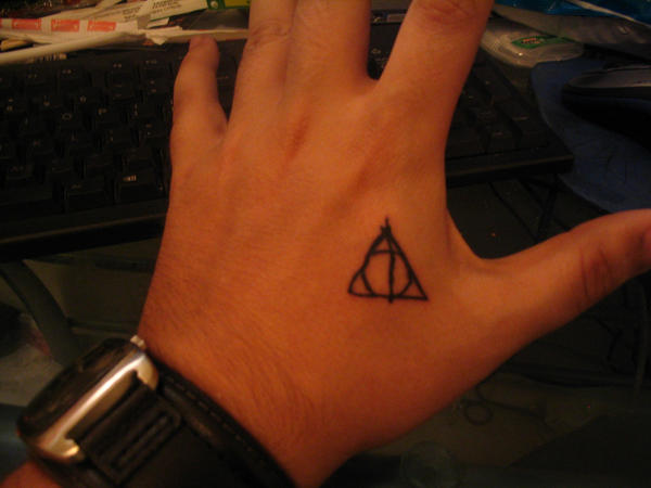 Deathly Hallows Tattoo By Dexlan On Deviantart