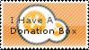 Donation Box Stamp by Pyroglifix