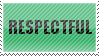 Respectful Stamp by Pyroglifix