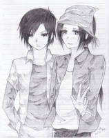 Digimon Frontier Twins by littlekid7