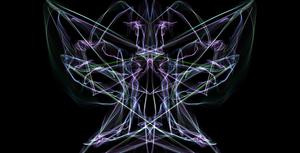 Silk Art Butterfly