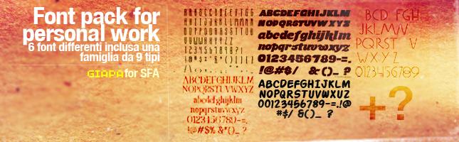 6 (7 family) type + 1 bonus by janlukSFA