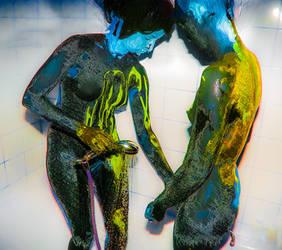Expressionism: Bathers by DurasMox