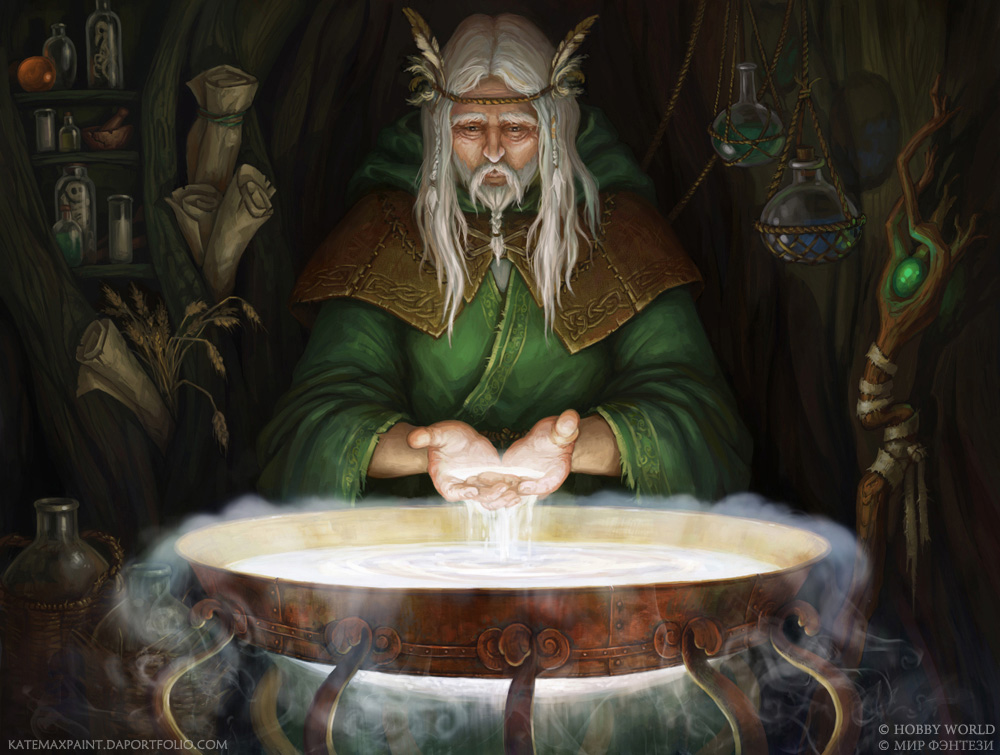 Druid by KateMaxpaint