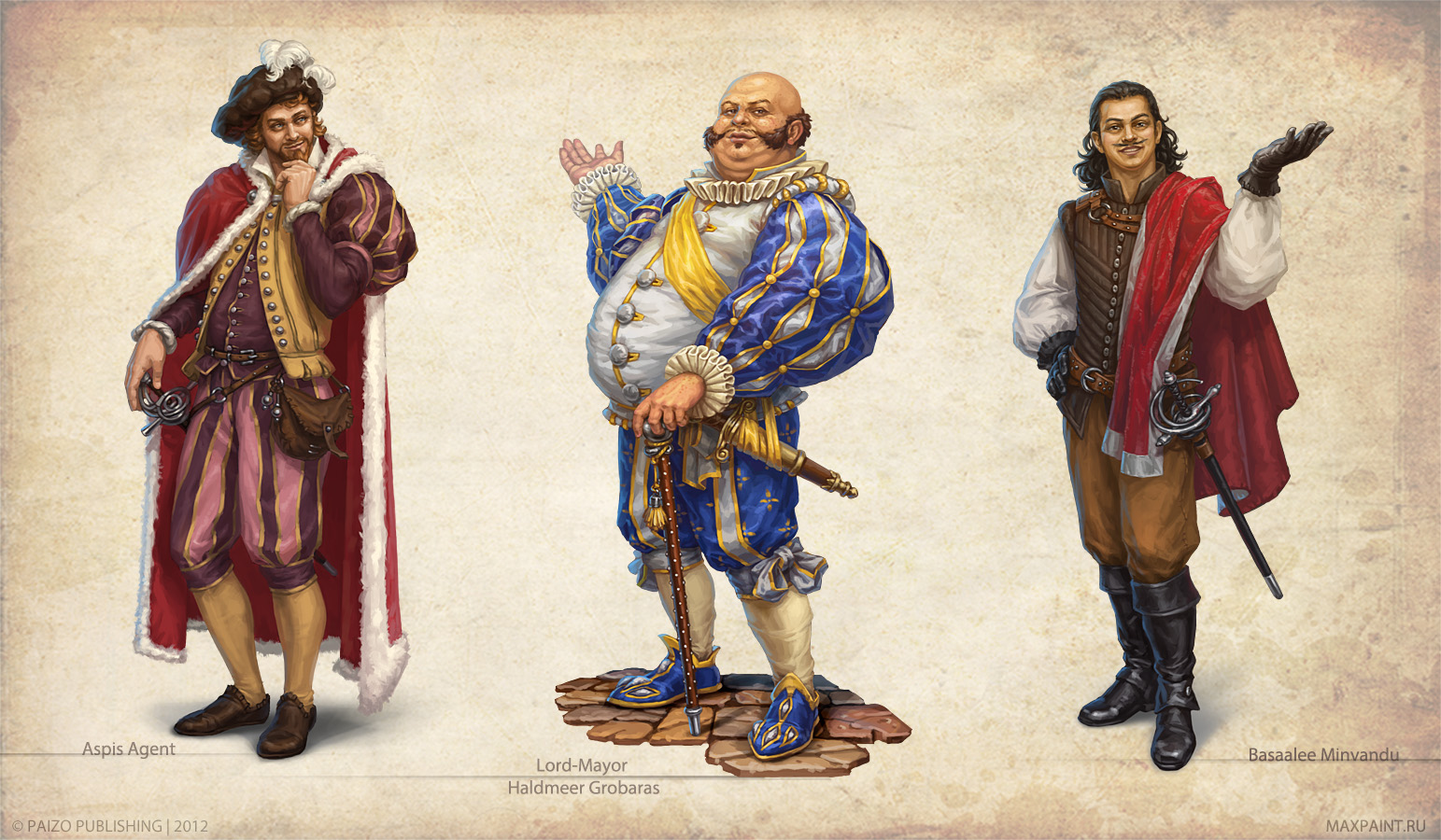 Magnimar characters by KateMaxpaint
