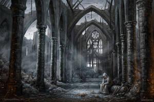 Last cleric by KateMaxpaint