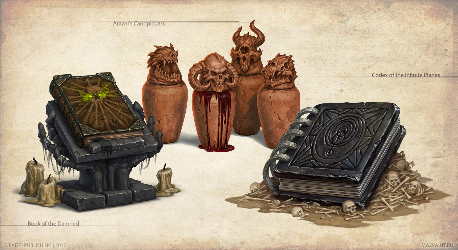 Artifacts and Legends_3 by KateMaxpaint