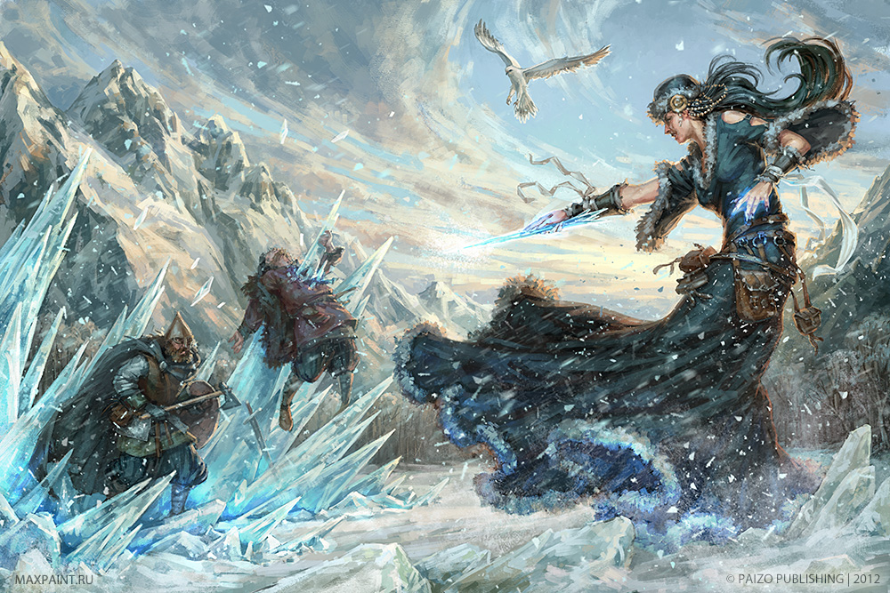 Ice magic by KateMaxpaint