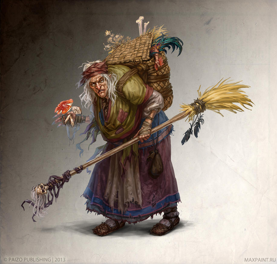 And Baba Yaga is against