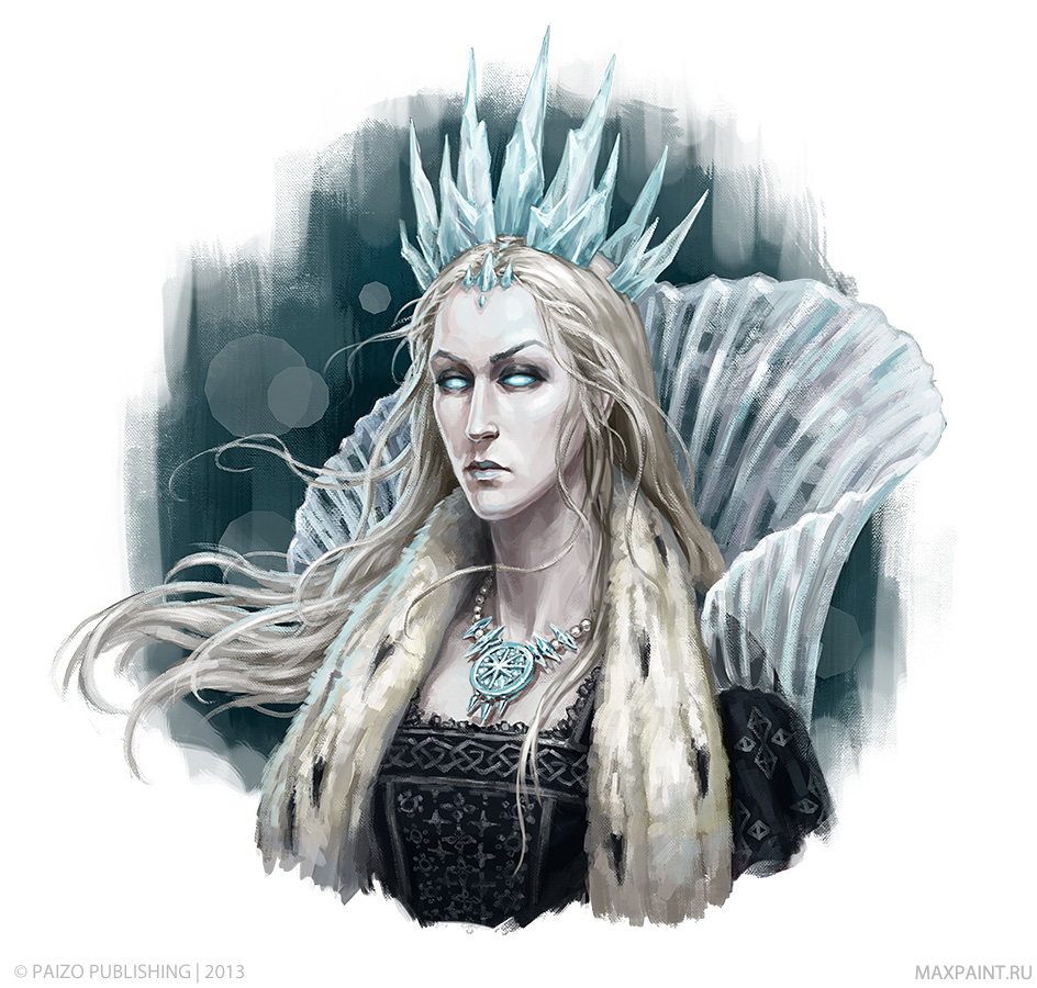 Queen Elvanna by KateMaxpaint