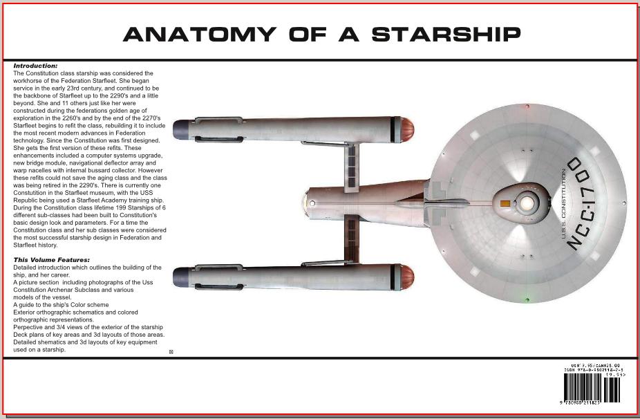 ANATOMY of a Starship Constitution back by Bernard-Guignard