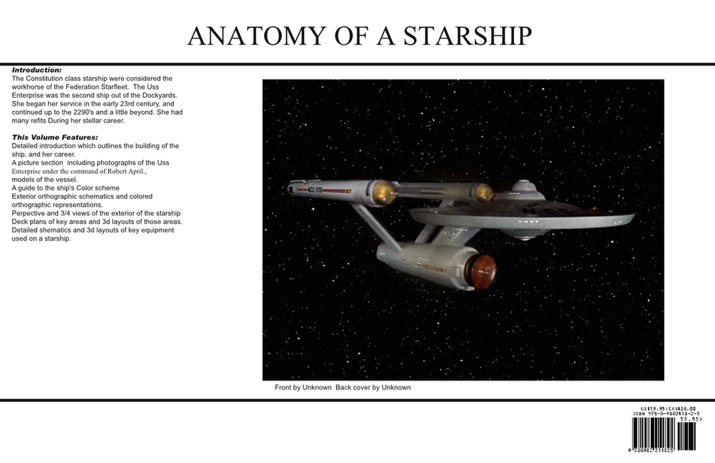 Anatomy of the starship Enterprise Prototype-page0 by Bernard-Guignard