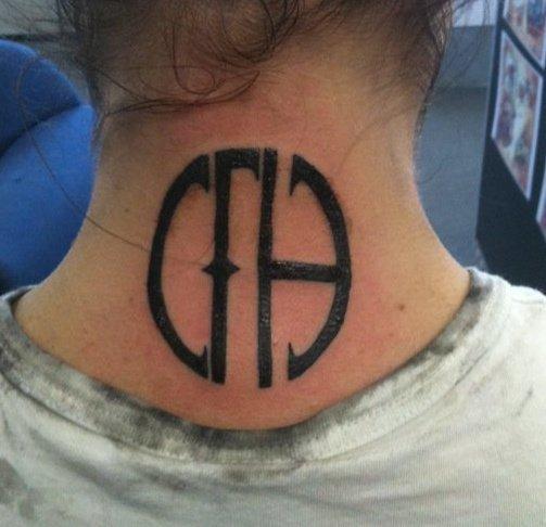 pantera cowboys from hell tattoo - photo #31