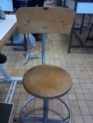 Touma la chaise d'atelier by LiliPoun
