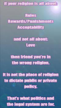 Acceptable Religion