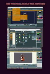 Nightphoenix Theme for Anime Studio Pro 11 - GUI