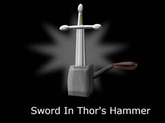 Sword In Thor's Hammer