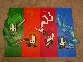 Castle Crashers by Wacker00