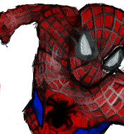 Spiderman Drawing Filtered by Stuff-incorporated