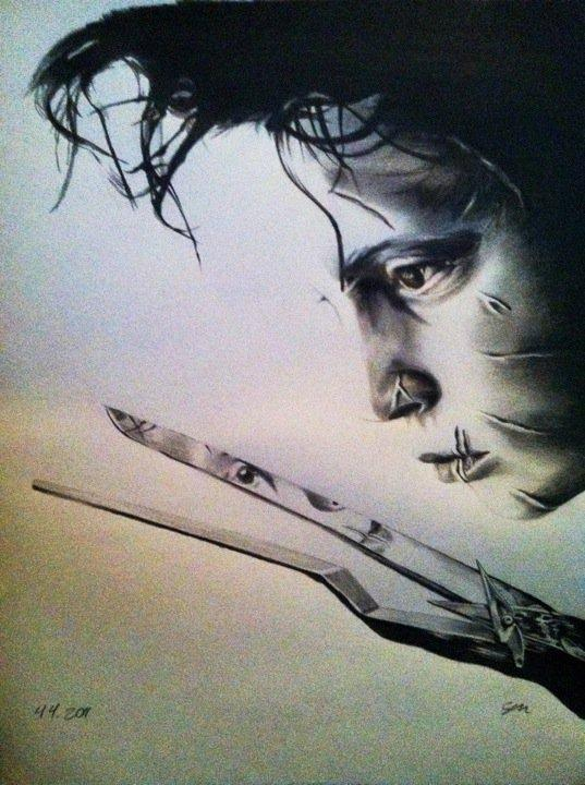 Edward Scissorhands by SarahEleanor
