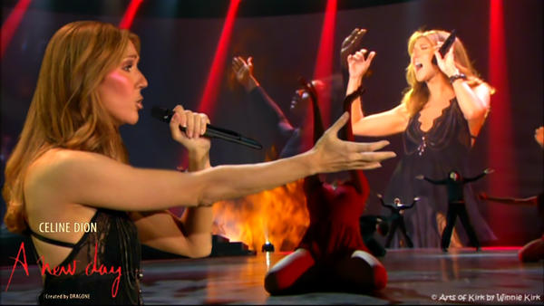 Celine Dion A New Day 003 by ArtsofKirk