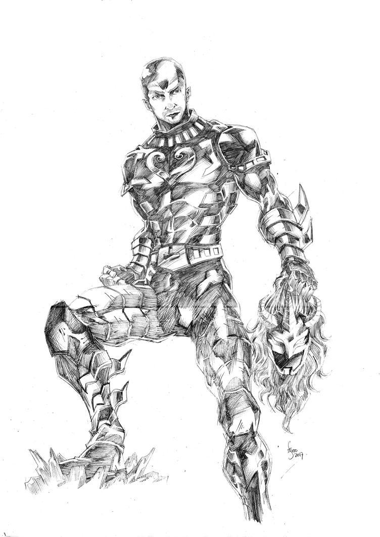 Movement-King-Sketch by Seno85