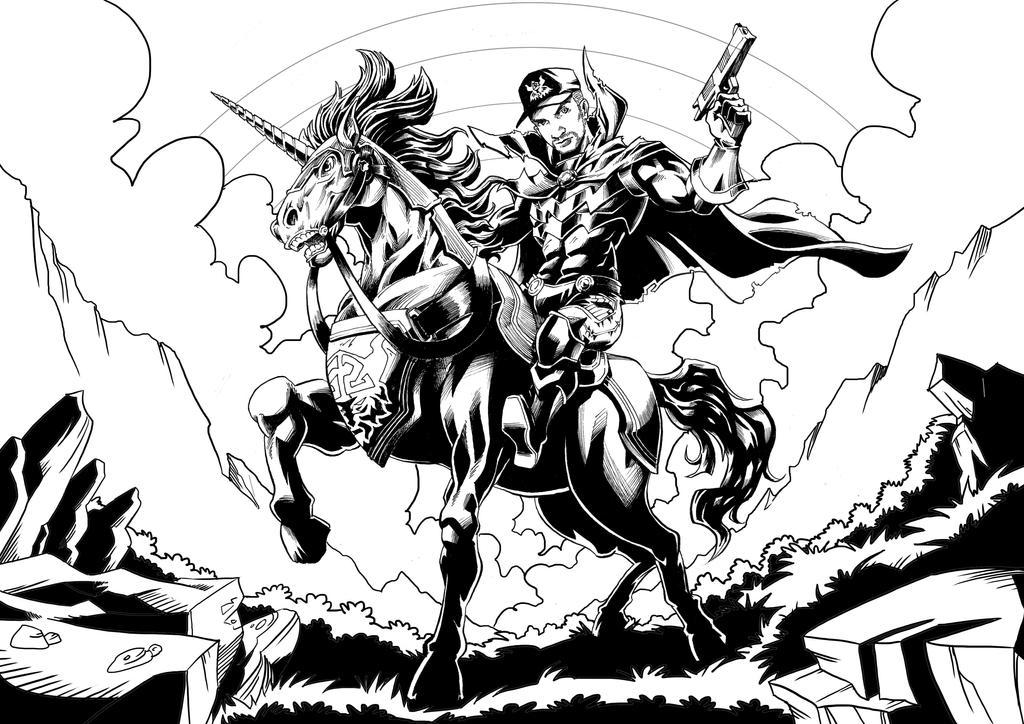 Unicorn by Seno85