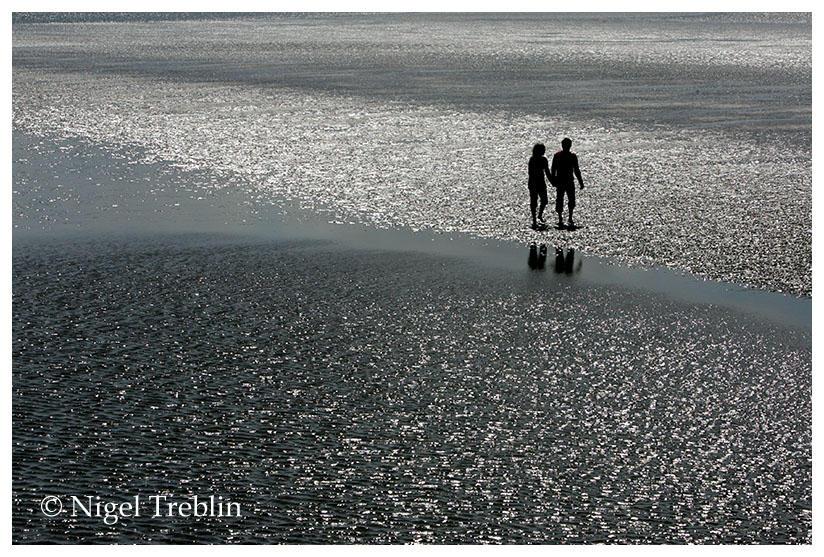 Walk in the wadden sea by nigelt