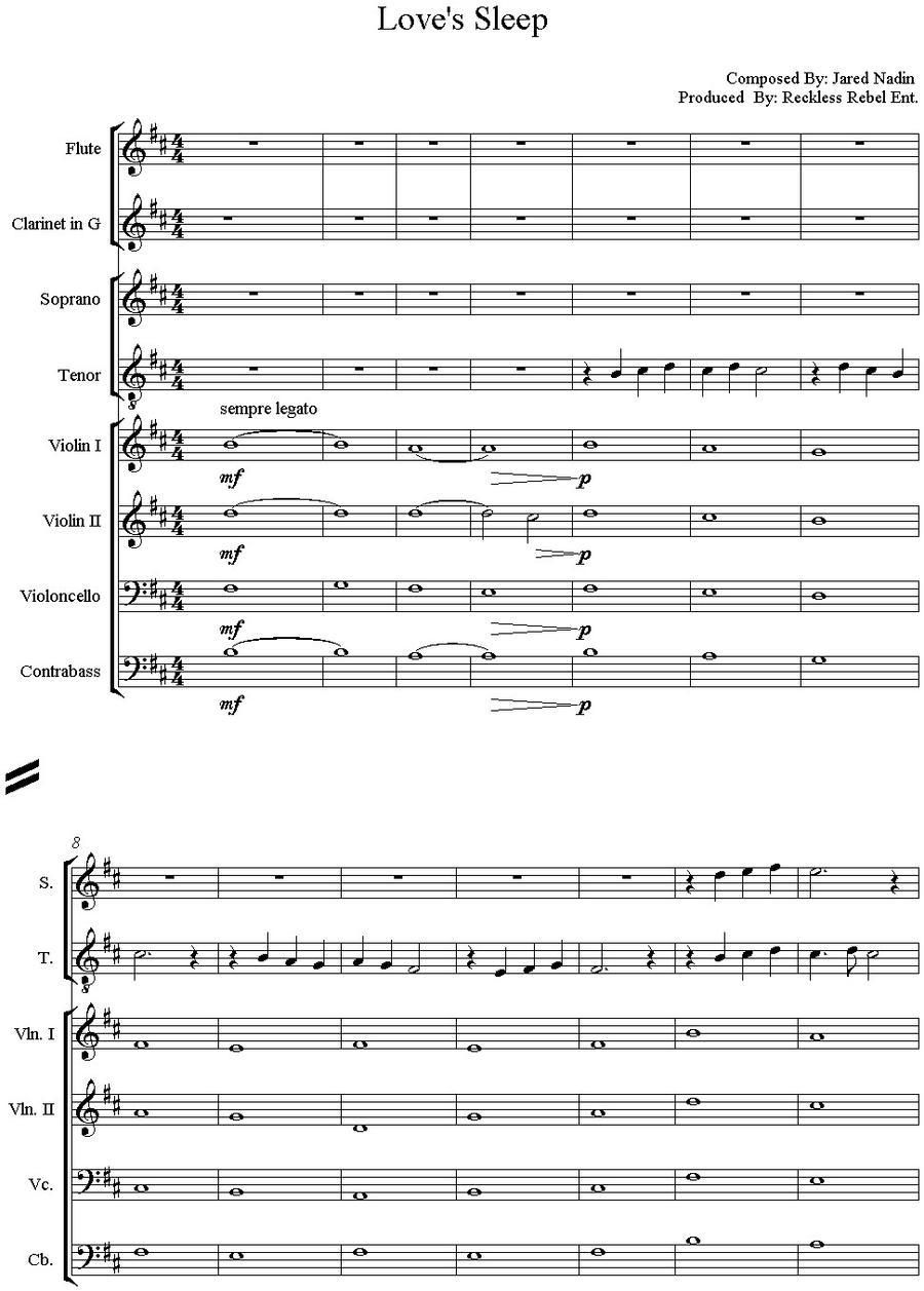 he sleeps pretty woman sheet music pdf
