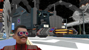 [MMD Model] Sonic Generations G.U.N. Truck!
