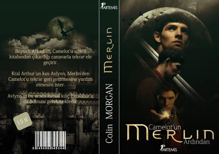 Merlin Book Cover by Fuckthesch00l
