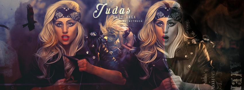 LADY GAGA (JUDAS) by Fuckthesch00l