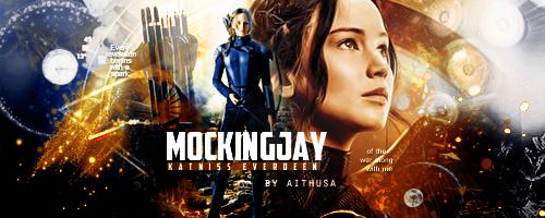M O C K I N G J A Y(Katniss Everdeen Signature) by Fuckthesch00l