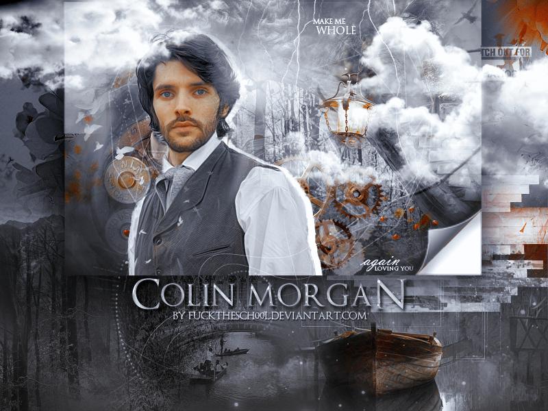 Colin Morgan Cover by Fuckthesch00l