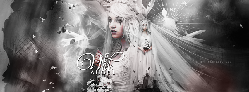 White Angel by Fuckthesch00l