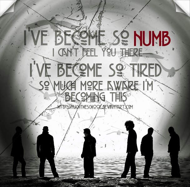Linkin Park Numb (ID) by Fuckthesch00l