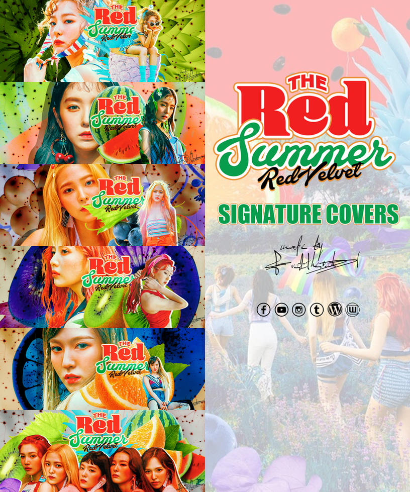 RED VELVET THE RED SUMMER COVERS by Fuckthesch00l