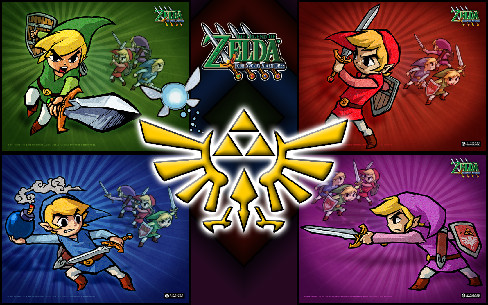 Legend Of Zelda: Four Swords by TehGreyFawkz