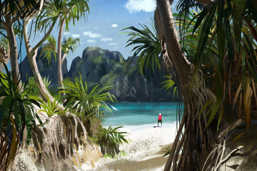 The beach by janem88