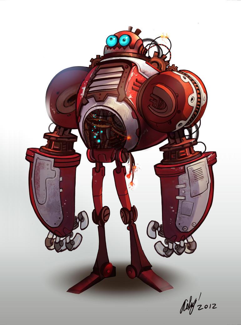 robot by janem88