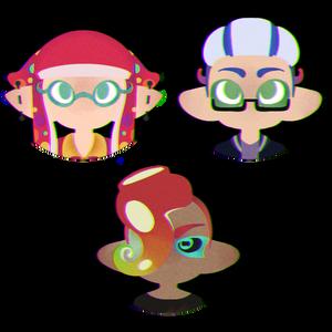 hi made these splat icons
